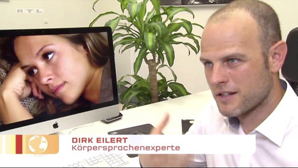 Mimik-Analyse Die Bachelorette, RTL, Punkt 12 Dirk W. Eilert