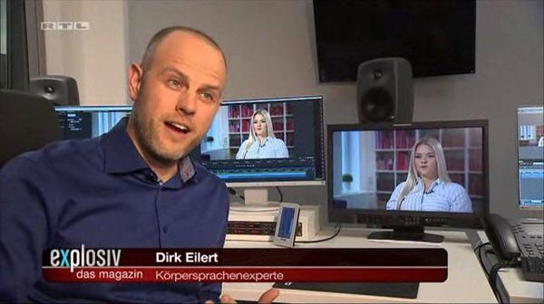 Mimik-Analyse Bachelor-Finale - RTL, explosiv – das Magazin, Dirk W. Eilert