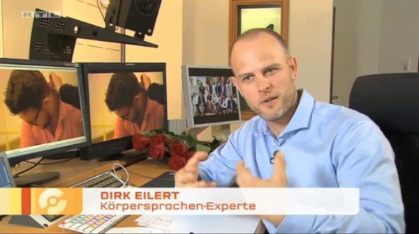 Mimik-Analyse, Die Bachelorette RTL, Punkt 12 Dirk W. Eilert