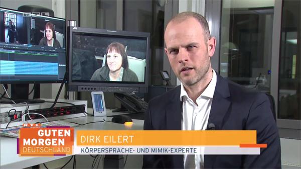 """Mimik-Analyse: die """"Hexe von Höxter - RTL"""