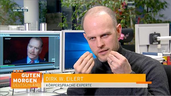 Mimik-Analyse James Hewitt - RTL