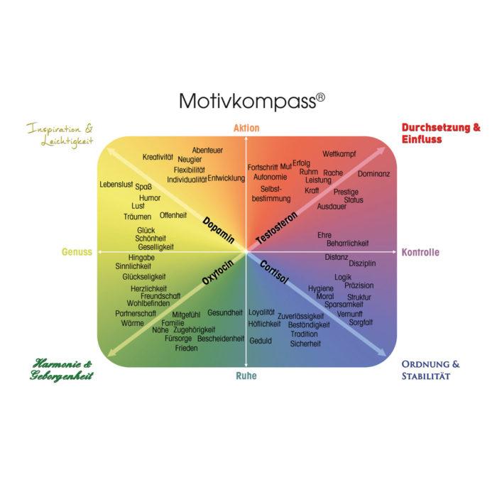 Motivkompass-Poster